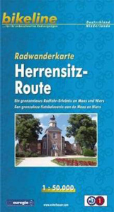 Radwanderkarte Herrensitz-Route