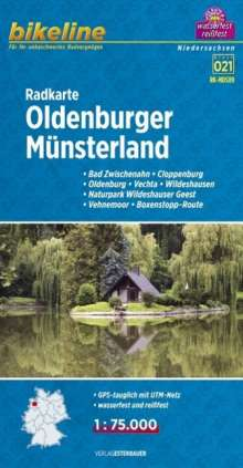Oldenburger Münsterland Radkarte